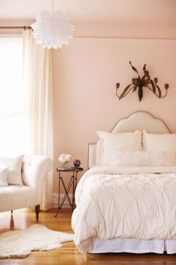 Pink White And Gold Bedroom 92