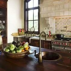 Spanish Mission Style Kitchen 14