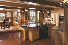 Spanish Mission Style Kitchen 18