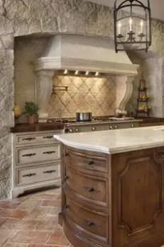 Spanish Mission Style Kitchen 33
