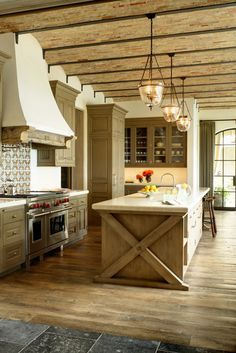 Spanish Mission Style Kitchen 52