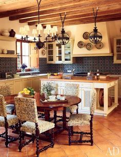 Spanish Mission Style Kitchen 6