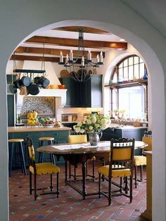 Spanish Mission Style Kitchen 80