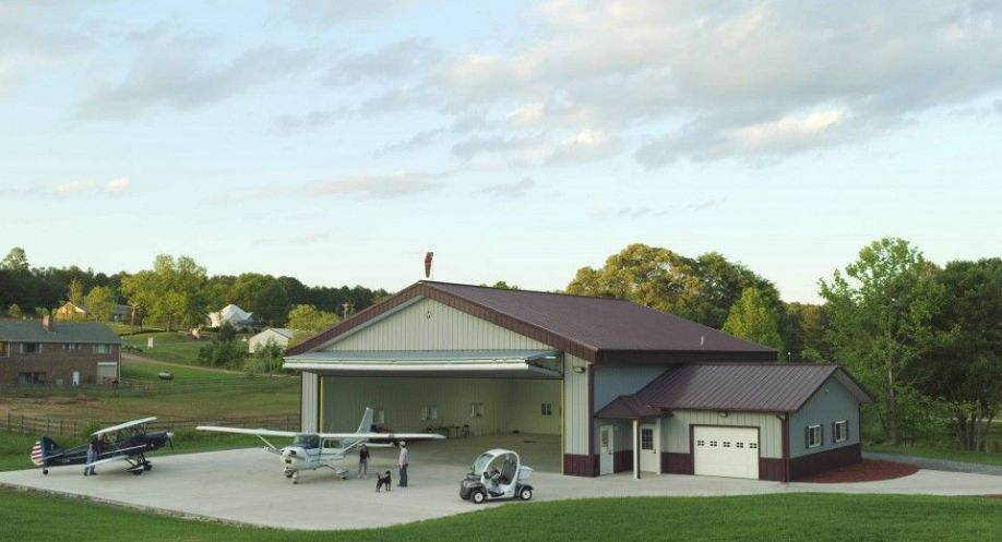 Airplane Hangar 20