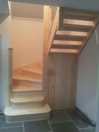 Attic Stairs Ideas 11