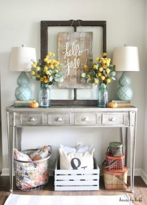 Farmhouse Fall Decor 14