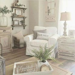 Farmhouse Living Rooms 24