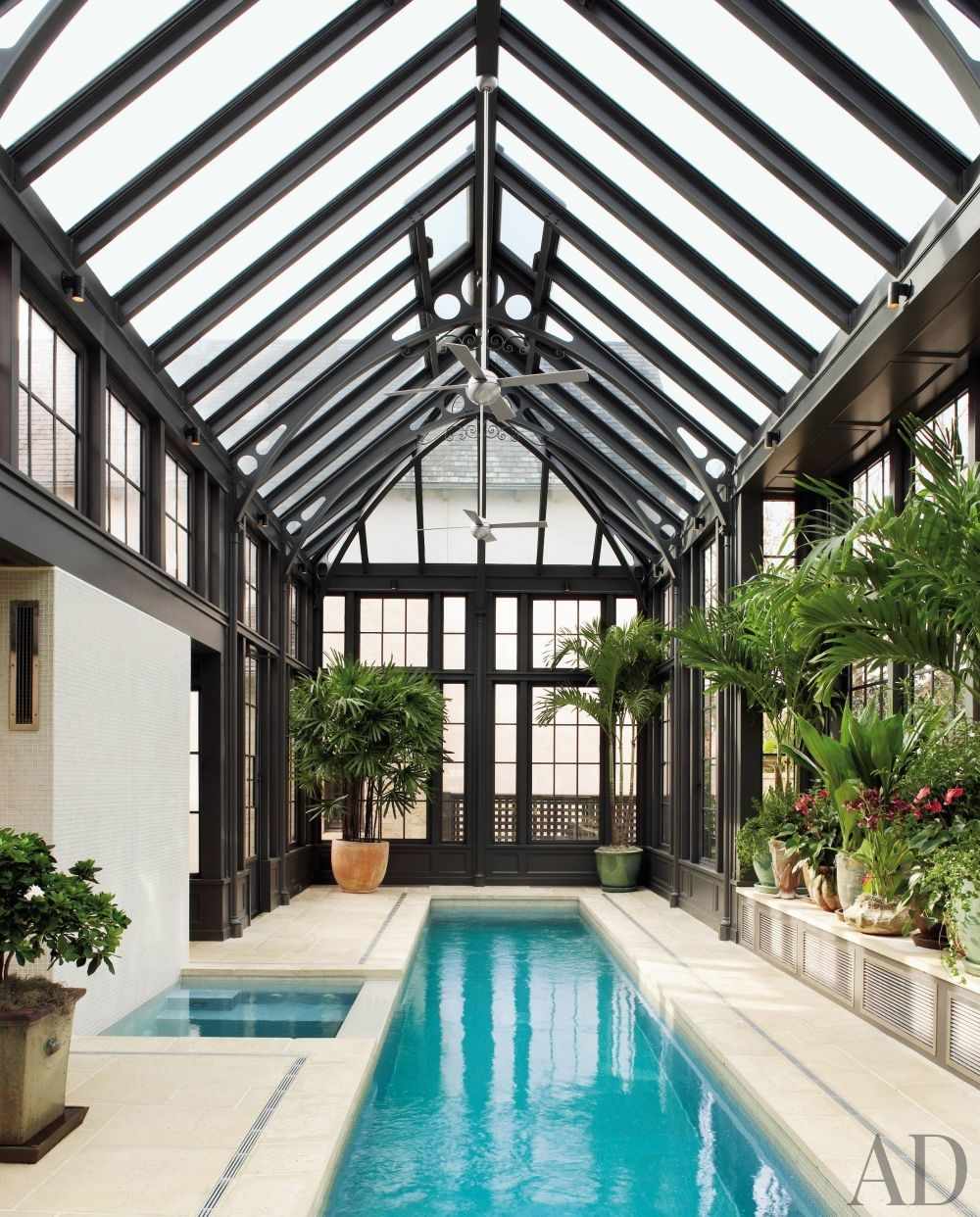 Best 25 indoor swimming pool design ideas for your home for Swimming pool design for house