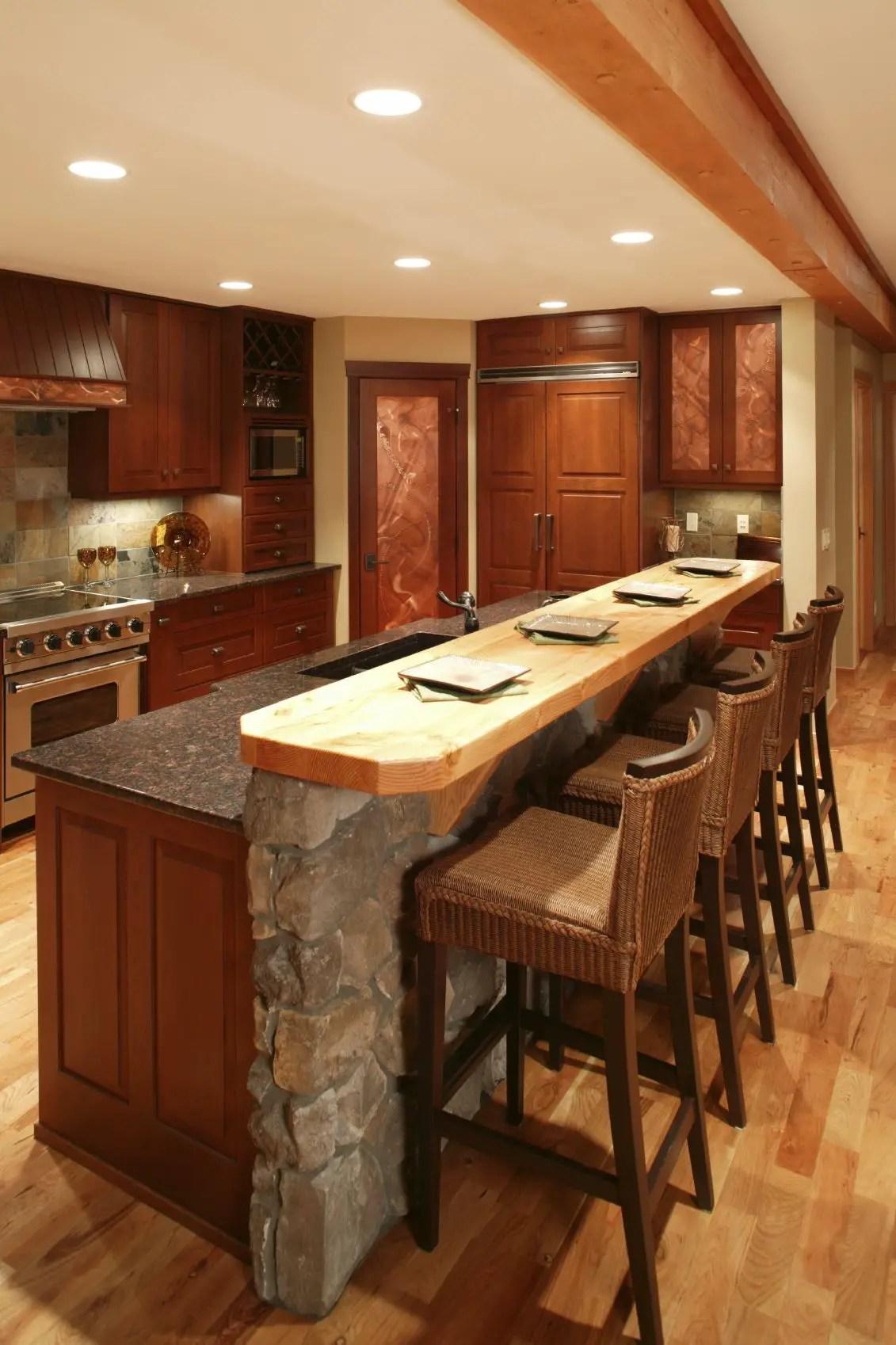 25 Kitchen Island Bars Pictures & Ideas   decoratoo