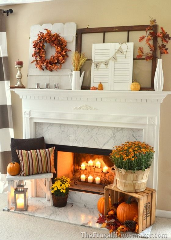 Fall Apartment Decor 13