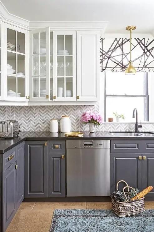 Gray Cabinets Black Countertops 15 - decoratoo