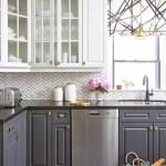 Gray Cabinets Black Countertops 15