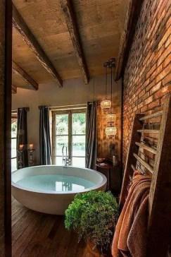 Log Home Bathrooms 13