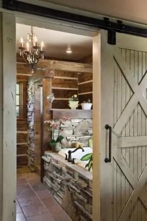 Log Home Bathrooms 8
