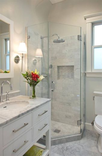Small Master Bathroom Layout 5