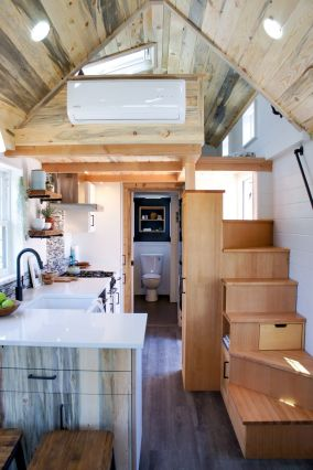Tiny House Stairs 10