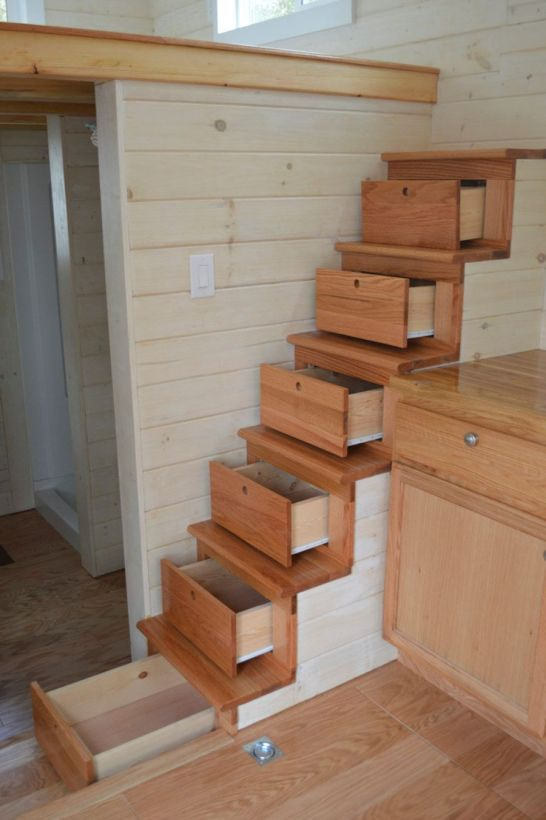 Tiny House Stairs 15