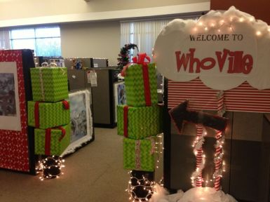 christmas office decoration. Christmas Office Decorations 2 Decoration