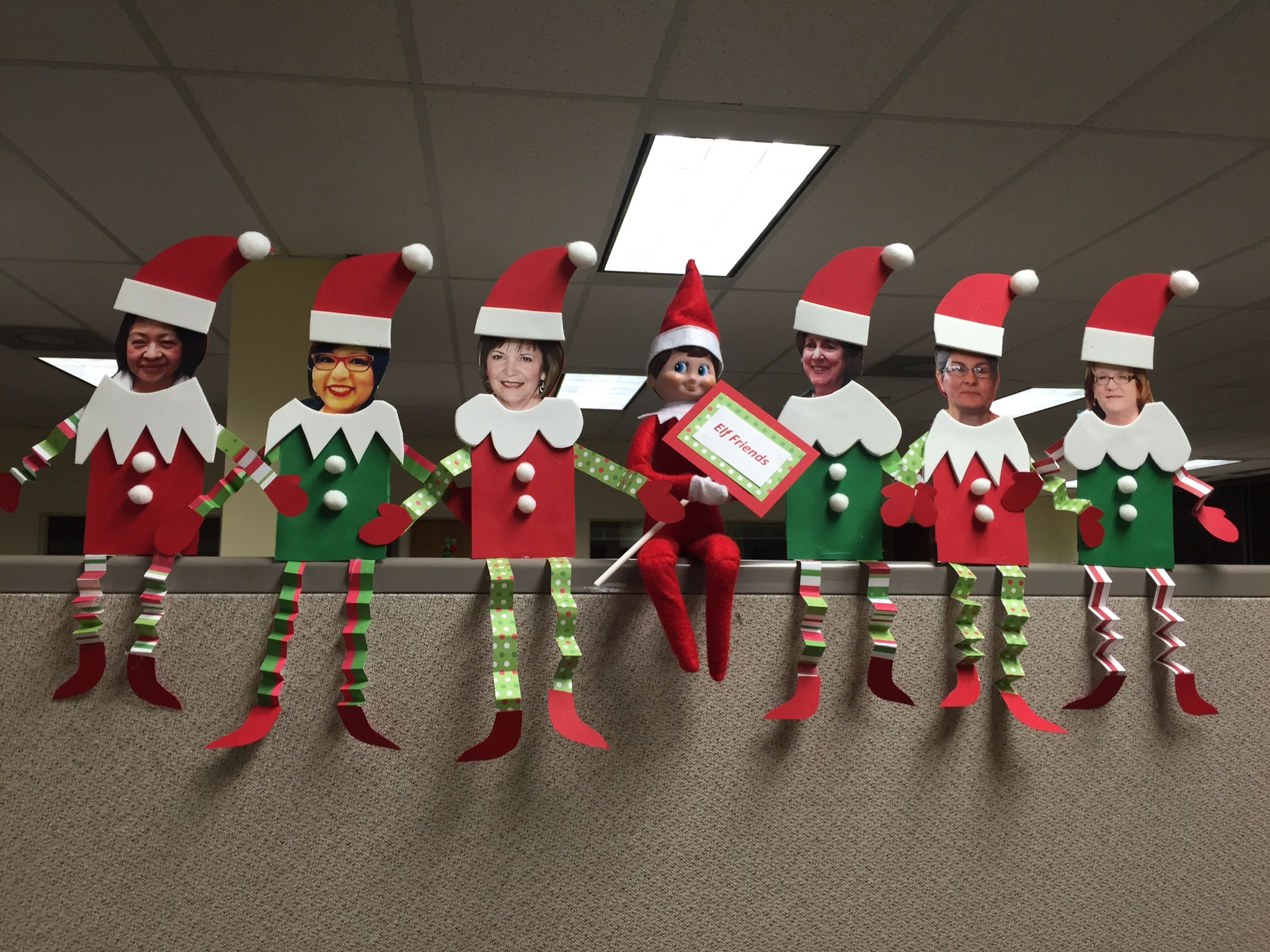 Merveilleux Christmas Office Decorations 31
