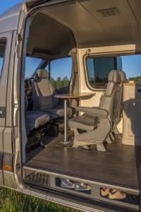Conversion Van Interior 12