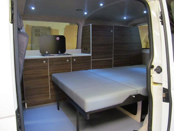 Conversion Van Interior 19