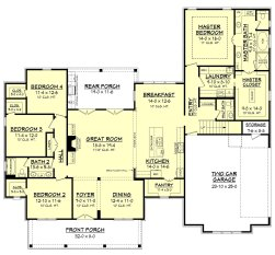 Farmhouse Floor Plans 17