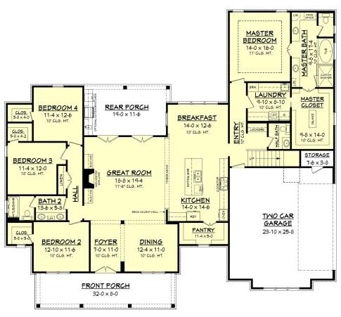 Farmhouse Floor Plans 17