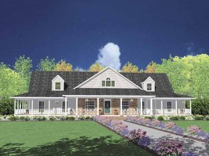 Farmhouse Floor Plans 22