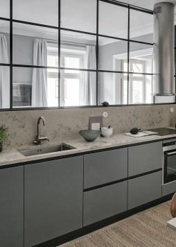 Grey And Beige Kitchen 12
