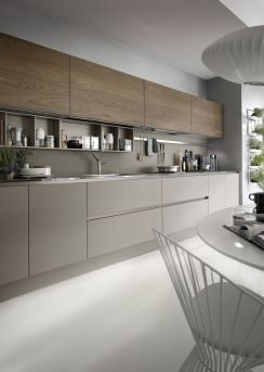 Grey And Beige Kitchen 13