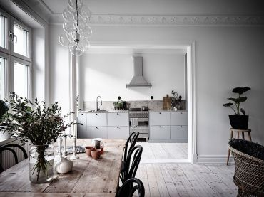 Grey And Beige Kitchen 4