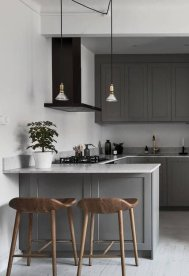 Grey And Beige Kitchen 6