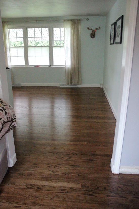 Red Oak Floor Stain Colors 1