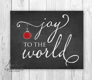 Christmas Chalkboard Art 12