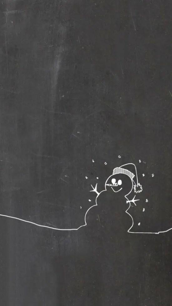 Christmas Chalkboard Art 19