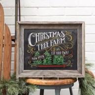 Christmas Chalkboard Art 24