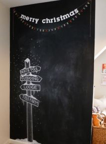 Christmas Chalkboard Art 4