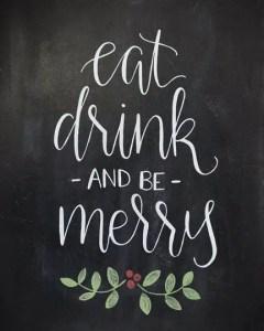 Christmas Chalkboard Art 9