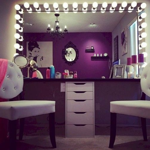 22 Glam Dressing Room Ideas Design Ideas - decoratoo on Makeup Room  id=75233