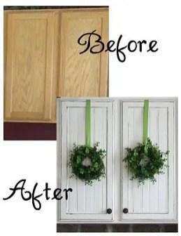 Wreaths On Kitchen Cabinet Doors8