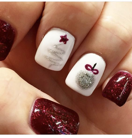 Nails Design Ideas for Christmas 2