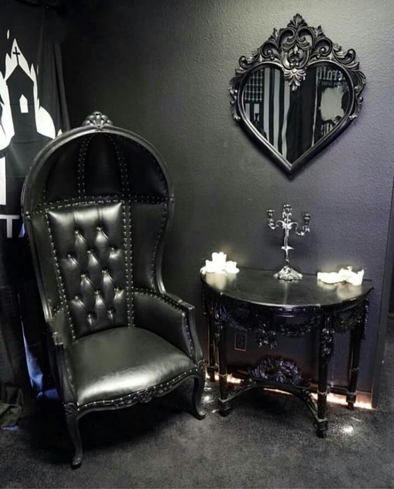 10 Gorgeous Gothic Furniture Set For Your Living Room ...