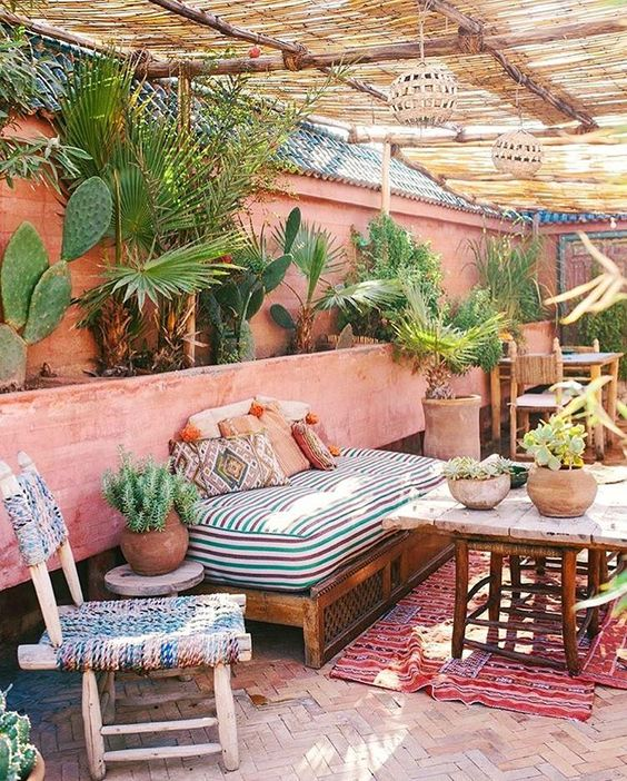 Bohemian Patio Ideas 6