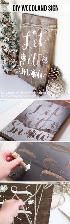 Rustic Christmas Decor 8