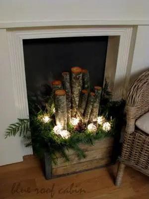 Rustic Christmas Decor 9