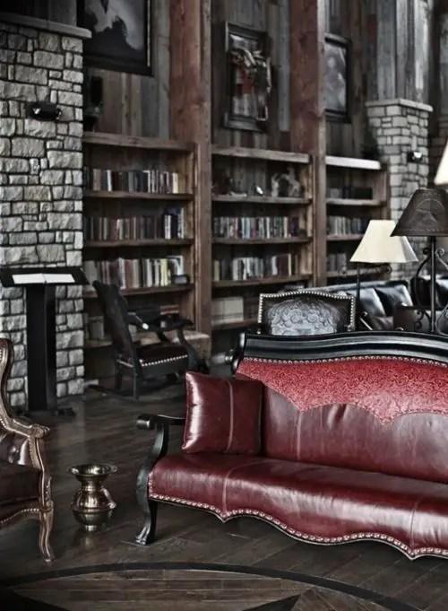 Gothic Furniture Set For Living Room 13