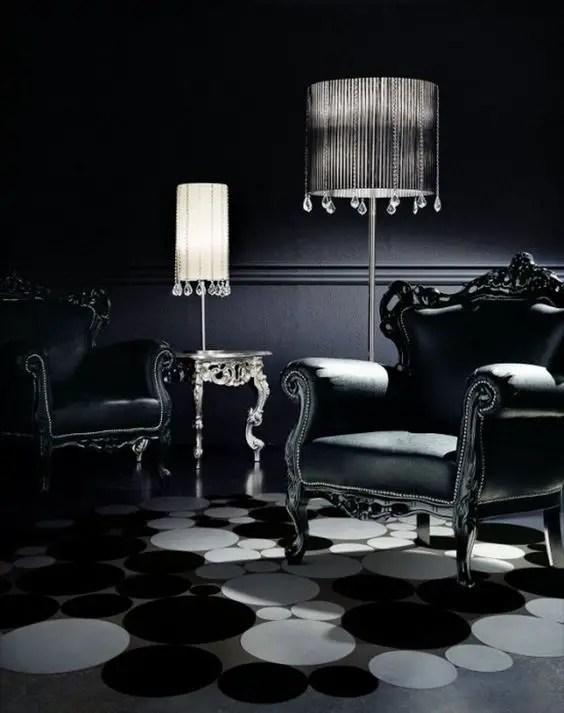 Gothic Furniture Set For Living Room 9
