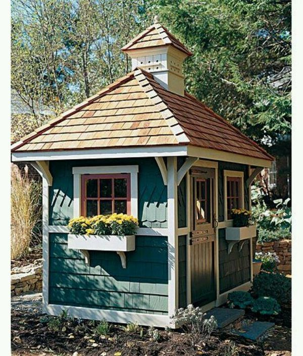 Painted Shed 12 Result