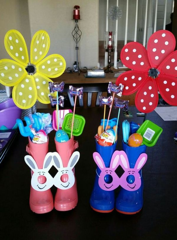 Rain Boot Easter Basket 4 Result