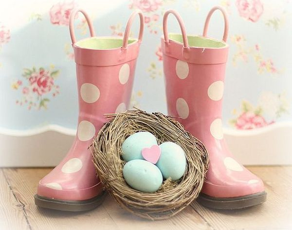 13 Adorable Ideas Of Rain Boot Easter Basket Decoratoo